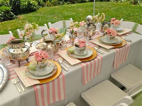 bridesmaids luncheon   Tabletops that rock . in 2019
