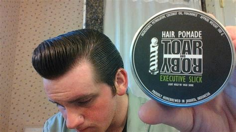 Pomade Toar And Roby toar and roby executive slick pomade review