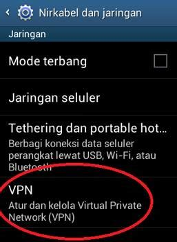 tutorial internet gratis di hp android internet gratis dengan cara membuat vpn di android