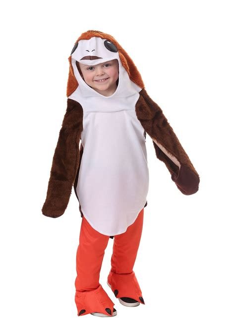 wars costumes wars the last jedi porg costume for toddlers