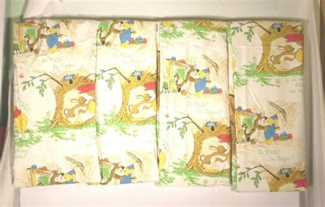 4 Winnie The Pooh Nursery Curtains Panels Sears Walt