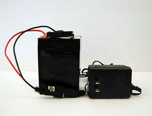 6v rechargeable battery and charger 6 volt 4 5 ah 20hr rechargeable battery 3fm4 5 and charger