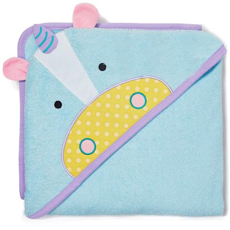 Skiphop Zoo Hooded Towel Owl skip hop zoo hooded towel otis owl multi hooded baby bath towels baby