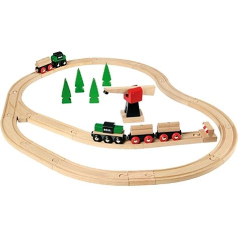 brio wooden train classic railway deluxe set from brio wwsm
