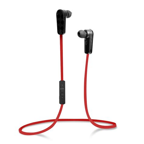 Qian25 Blue L Earbud Non Mic jarv nmotion sport wireless bluetooth stereo earbuds