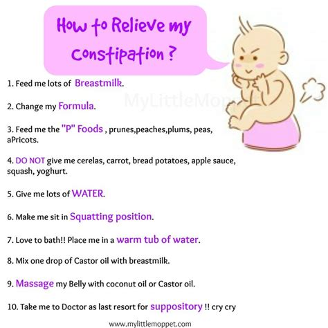 25 best relieve constipation ideas on baby