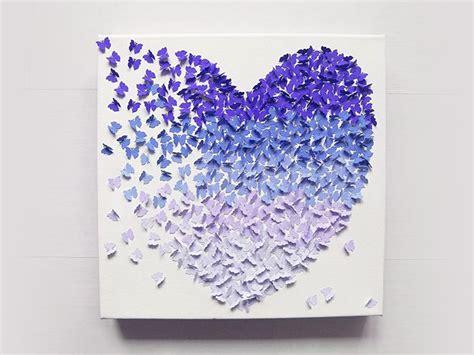Lade In Carta Di Riso by 3d Bild Mit Schmetterlingen Im Ombr 233 Look Selber Machen