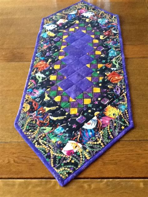mardi gras table runner mardi gras table runner my quilts