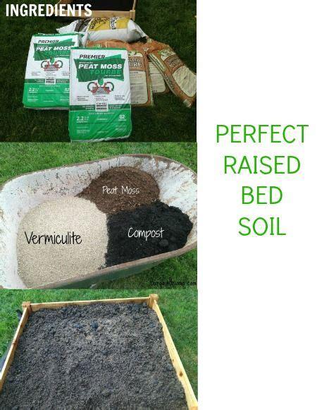 Raised Beds Gardening And Beds On Pinterest Best Soil Mix For Raised Vegetable Garden