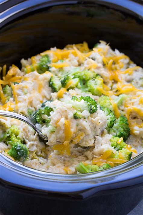 Rice Cooker Kris cooker chicken broccoli and rice casserole