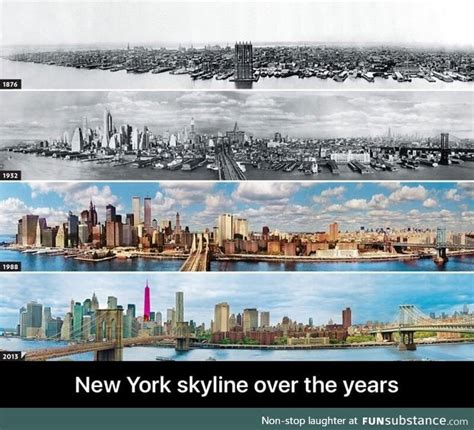 new york through the 1781579733 new york skyline over the years funsubstance
