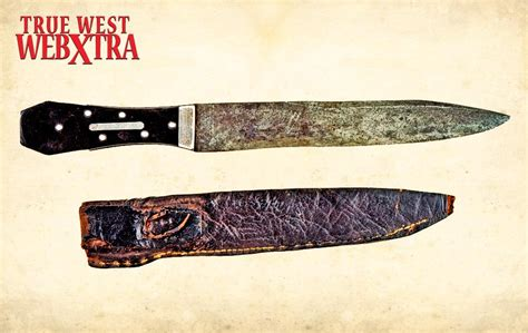the black knife fighting blades of the frontier true west magazine
