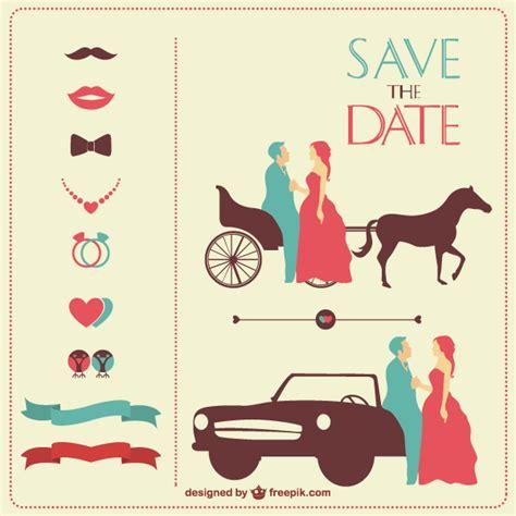 Wedding Invitation Design Elements by Vintage Wedding Invitation Design Elements Vector Set