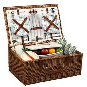 The Picnic Basket Dorset Picnic Basket For Four Gazebo Collection