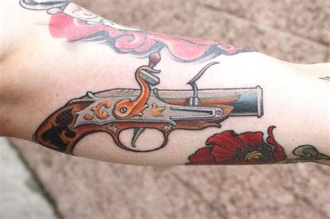 tattoo gun information flintlock pistol by jeff norton tattoos