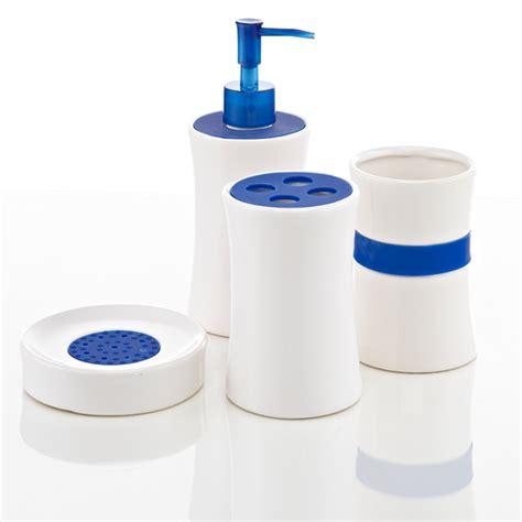 Bathroom Accessories Groupon Royal Club Ceramic Bath Accessories Set