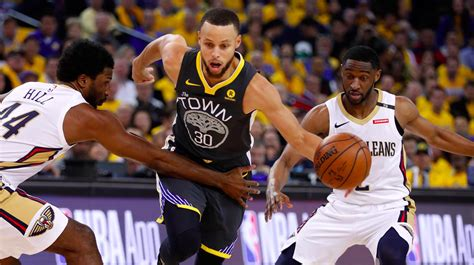 New Of Mba Playoffs by Nba Playoffs 2018 New Orleans Pelicans Vs Golden