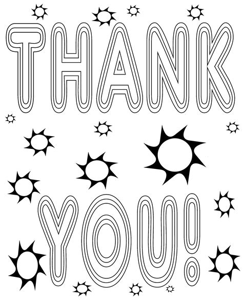 printable coloring pages thank you free coloring pages of please and thank you