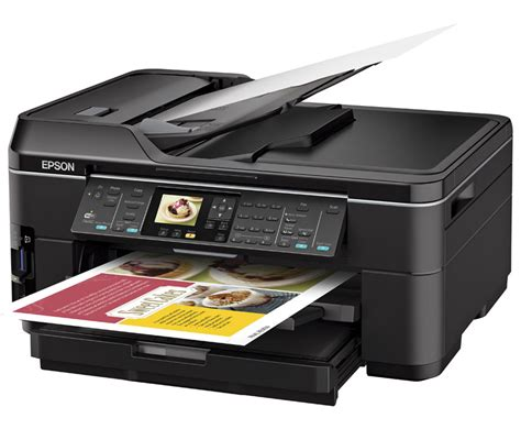 Printer A3 Epson epson workforce wf 7510 a3 multifunction business printer