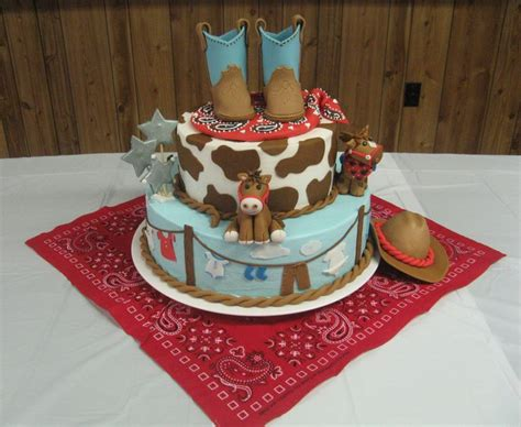 Theme Baby Shower Cakes by 45 Best Cowboy Baby Shower Cake Images On Baby Shower Cakes Birthday Decorations