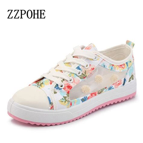shoes for comfort and fashion 2017 spring and summer sweet woman fashion breathable mesh