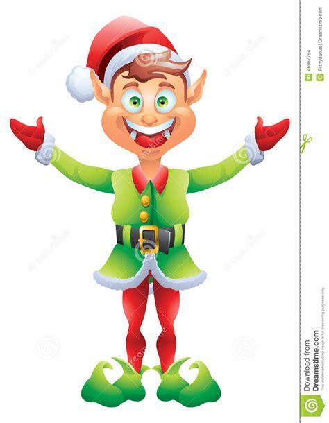 printable elf hands christmas elf welcome with open hands stock vector image
