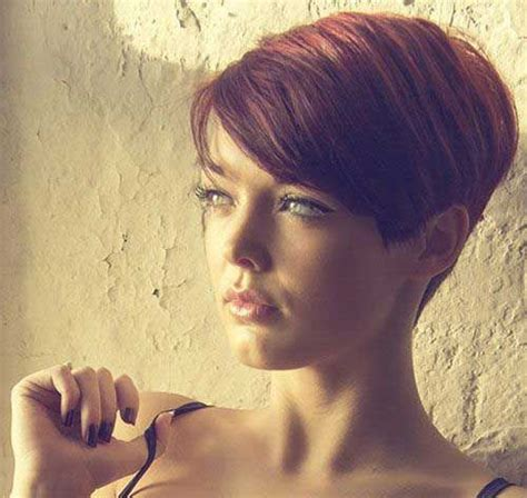 wedge one side longer hair 130 best haircuts images on pinterest hair cut short