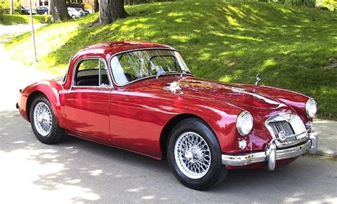 Exotic Car Interior 1958 Mga Coupe Gentry Lane Automobiles