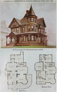 Victorian Floorplans by House Plans Victorian Mini