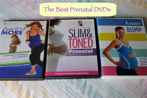 the best prenatal workout dvds my own balance