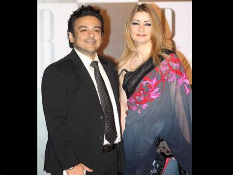 Adnan Says Wants His Baby by Celebration Time Adnan Sami His Roya Blessed With