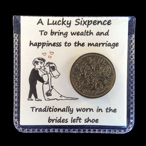 sixpence in shoe wedding lucky sixpence coin for the bride s shoe