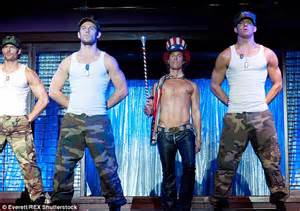 we became male strippers magic the science of magic mike researchers reveal why male