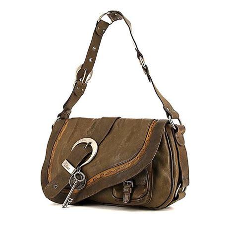 Khaki Denim Gaucho Bag by Gaucho Handbag 341554 Collector Square