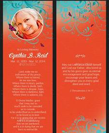 Funeral Bookmarks Template Free by 21 Funeral Bookmark Templates Free Sle Exle