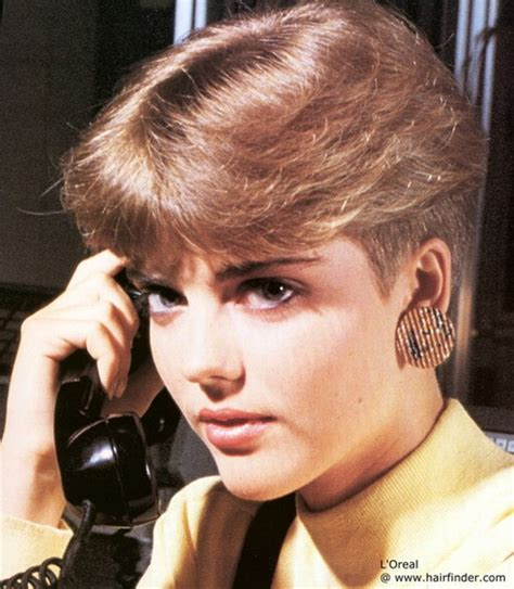 1980s short womens haircuts 1980s hair styles c20th fashion history hairstyles big