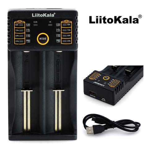 Charger Baterai 18650 2 Slot Nk 912 liitokala charger baterai 18650 2 slot with usb output lii 202 black jakartanotebook