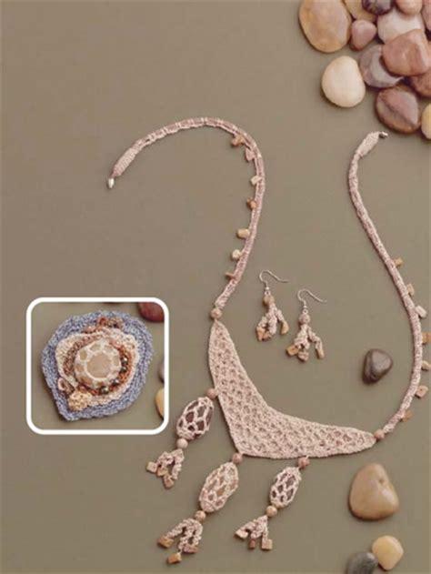 crochet jewelry patterns with crochet jewelry patterns river rock jewelry