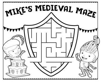 nick jr mike the knight coloring pages 1640 mejores im 225 genes de guias en pinterest jard 237 n de