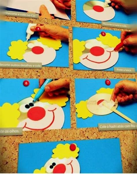 clown template preschool the 25 best ideas about clown crafts on