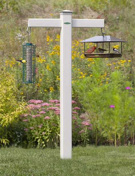bird feeder stand for deck birdcage design ideas
