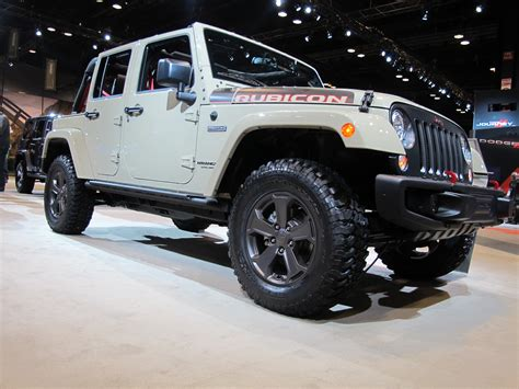 Jeep Rubicon Jeep Builds Its Most Capable Wrangler Car News