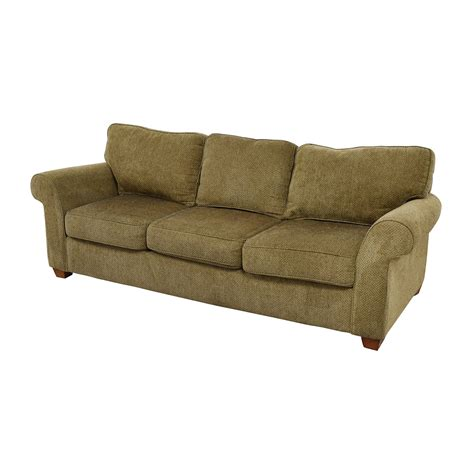 beige fabric sofa 90 off bloomingdale s bloomingdale s beige tweed fabric