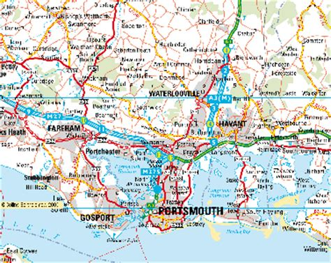 printable road map of southern england hshire images reverse search