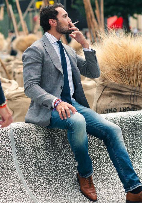 Blazer Jaket Kombine grey sport coat with yea or nay malefashionadvice