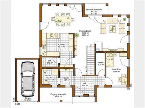 Küche Mit Speisekammer Grundriss by K 252 Che Grundriss Einfamilienhaus Offene K 252 Che Grundriss