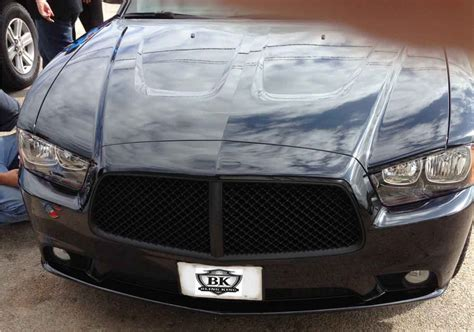 dodge charger mesh grill dodge charger chrome bentley black mesh grille 2011 2014