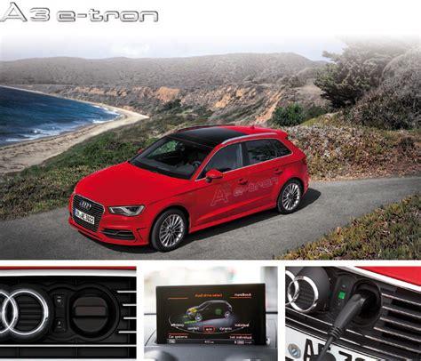 Ma E Audi A3 Sportback by Audi A3 Sportback E Garages Des A3 8v Etron Gtron