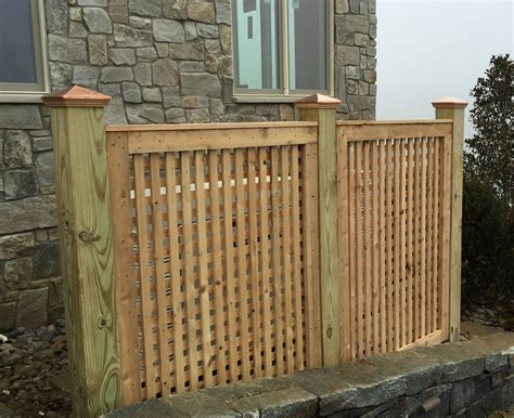 wood fencing add  link fence company nj fence contractor