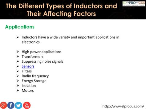factors affecting inductance of an inductor the different types of inductors and their affecting factors презентация онлайн
